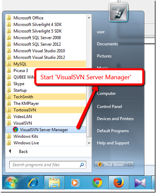 11.Start-VisualSVN_Server_Manager
